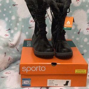 Sporto Gem Winter Boots Sz 6 or 8